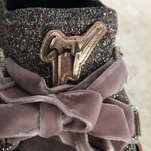 GIUSSEPE ZANOTTI  sparked sneakers  made in Italy